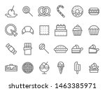 Sweet Dessert Icons. Sweetly...