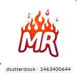 uppercase initial logo letter... | Shutterstock .eps vector #1463400644