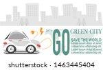 ev car for go green city ...