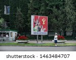 pyongyang  north korea   30...   Shutterstock . vector #1463484707