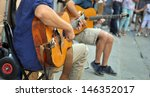Street Performers With Guitar ...