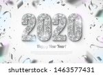happy new year banner with... | Shutterstock .eps vector #1463577431