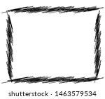 sketch  scribble rectangular... | Shutterstock .eps vector #1463579534
