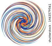 multicolor spiralled   spirally ... | Shutterstock .eps vector #1463579561