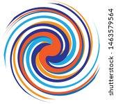 multicolor spiralled   spirally ... | Shutterstock .eps vector #1463579564