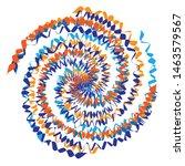multicolor spiralled   spirally ... | Shutterstock .eps vector #1463579567