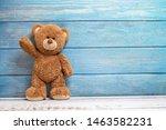 Cute Teddy Bear With Copy Space ...