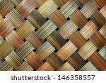 Thai Handcraft Of Bamboo Weave...