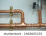 Copper Pipework With Isolator...