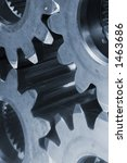gears cogs connecting against... | Shutterstock . vector #1463686
