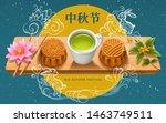 mid autumn festival greeting... | Shutterstock .eps vector #1463749511