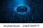 rpa robotic process automation... | Shutterstock . vector #1463760977