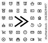rewind icon. universal set of...