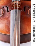 Close Up Brown Vintage Violin....