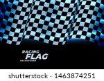 Racing Checkered Flag...