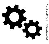 gears icon settings   for...   Shutterstock .eps vector #1463951147