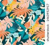 contemporary tropical exotic...   Shutterstock .eps vector #1463952917