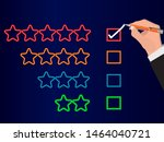 customer service experience and ... | Shutterstock .eps vector #1464040721