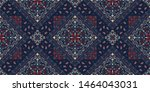 seamless pattern based on... | Shutterstock .eps vector #1464043031