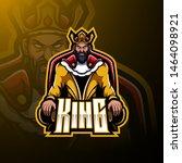 The King Esport Mascot Logo...