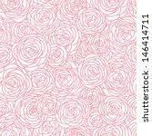Seamless Vintage Inspired Rose...