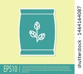 green fertilizer bag icon...   Shutterstock .eps vector #1464164087