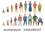 generations people men women... | Shutterstock .eps vector #1464185147