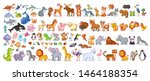 Big Vector Set With Animals In...