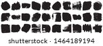 vector grunge brush  spots.... | Shutterstock .eps vector #1464189194