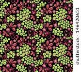 grape  flower  and berries... | Shutterstock .eps vector #146420651