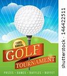 a nice design for a golf...   Shutterstock .eps vector #146422511