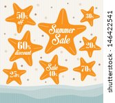 summer sales design | Shutterstock .eps vector #146422541