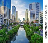 bangkok   june 14  the capital... | Shutterstock . vector #146423741