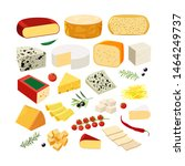 Various Types Of Cheese With...