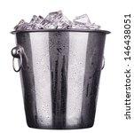 Champagne Metal Ice Bucket ...