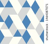 abstract blue triangles vector...   Shutterstock .eps vector #1464387071