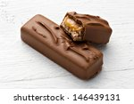 Chocolate Candy Bar With A...