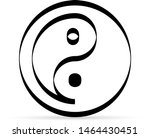 sign of chinese philosophy of...   Shutterstock .eps vector #1464430451