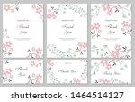 flower vector card. template....   Shutterstock .eps vector #1464514127