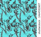 watercolor seamless pattern... | Shutterstock . vector #1464532607