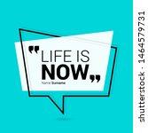 innovative vector quotation... | Shutterstock .eps vector #1464579731