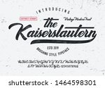 """the kaiserslautern"". vintage... | Shutterstock .eps vector #1464598301"