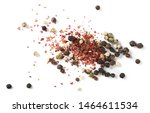 Colorful Pepper Isolated On...