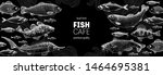 fish sketch collection. hand... | Shutterstock .eps vector #1464695381