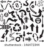 arrows seamless pattern | Shutterstock . vector #146472344