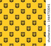 Coat of Arms of Germany pattern seamless vector repeat geometric yellow for any design