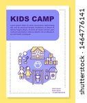 preschooler children summer... | Shutterstock .eps vector #1464776141