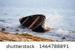 Abandoned Boat Wreck Washed Up...