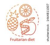 vegetarian nutrition ... | Shutterstock .eps vector #1464811007