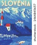 Travel Poster Of Slovenia....